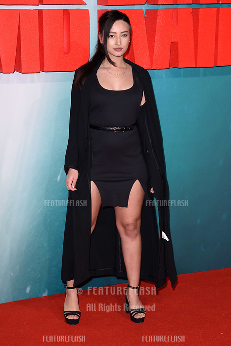Leah Weller at the &quot;Tomb Raider&quot; European premiere at the Vue Leicester Square, London, UK. <br /> 06 March  2018<br /> Picture: Steve Vas/Featureflash/SilverHub 0208 004 5359 sales@silverhubmedia.com