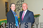 KERRY LAW SOCIETY: Chief Justice Susan Deman with the president of the Kerry Law Society Patrick Mann at their anual dinner at the Ballyroe Heights hotel, Tralee on Saturday.