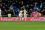 Real Madrid's Sergio Ramos celebrates goal during Copa Del Rey match between Real Madrid and CD Leganes at Santiago Bernabeu Stadium in Madrid, Spain. January 09, 2019. (ALTERPHOTOS/A. Perez Meca)<br />  (ALTERPHOTOS/A. Perez Meca)