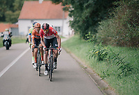 Frederik Frison (BEL/Lotto-Soudal) at the helm<br /> <br /> 8th Primus Classic 2018 (1.HC)<br /> 1 Day Race: Brakel to Haacht (193km / BEL)