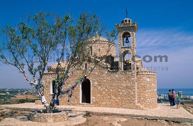 Protaras, Monte Elias Chapel, Cyprus, Zypern.