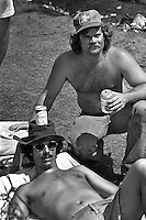 Sebring's infield party atmosphere is well-known and well-documented, evidenced by this pair of participants in 1977.