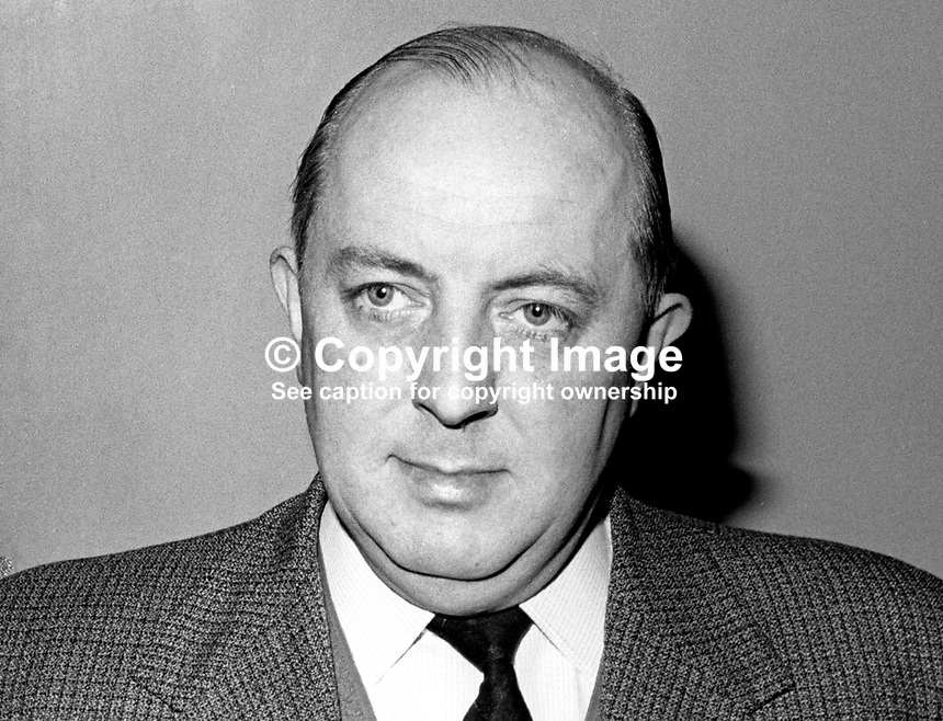 James D Henry, Mayor, Ballymena, Co Antrim, February, 1967, 196702000044<br /> <br /> Copyright Image from Victor Patterson, 54 Dorchester Park, Belfast, UK, BT9 6RJ<br /> <br /> t: +44 28 9066 1296<br /> m: +44 7802 353836<br /> vm +44 20 8816 7153<br /> <br /> e1: victorpatterson@me.com<br /> e2: victorpatterson@gmail.com<br /> <br /> www.victorpatterson.com<br /> <br /> IMPORTANT: Please see my Terms and Conditions of Use at www.victorpatterson.com