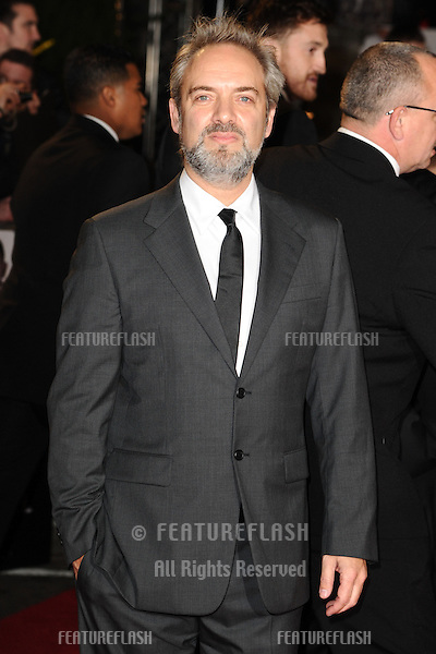 Sam Mendes arriving for the Royal World Premiere of 'Skyfall' at Royal Albert Hall, London. 23/10/2012 Picture by: Steve Vas / Featureflash