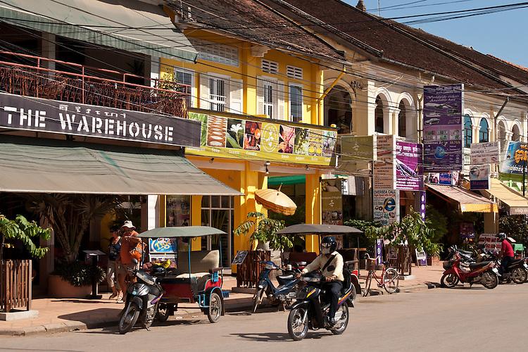 """The Warehouse"" bar, near the old market, Siem Reap, Cambodia"