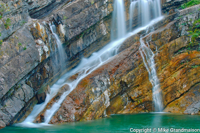 Cameron Falls, Waterton Lakes National Park, Alberta, Canada