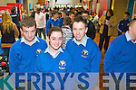 Students from Coláiste Íde and Scoil Iosef Naofa, Abbeyfeale pictured at the IT Tralee Open Day on Friday, from left: Christopher Morris, Aisling O'Keeffe and Christopher Kelliher.