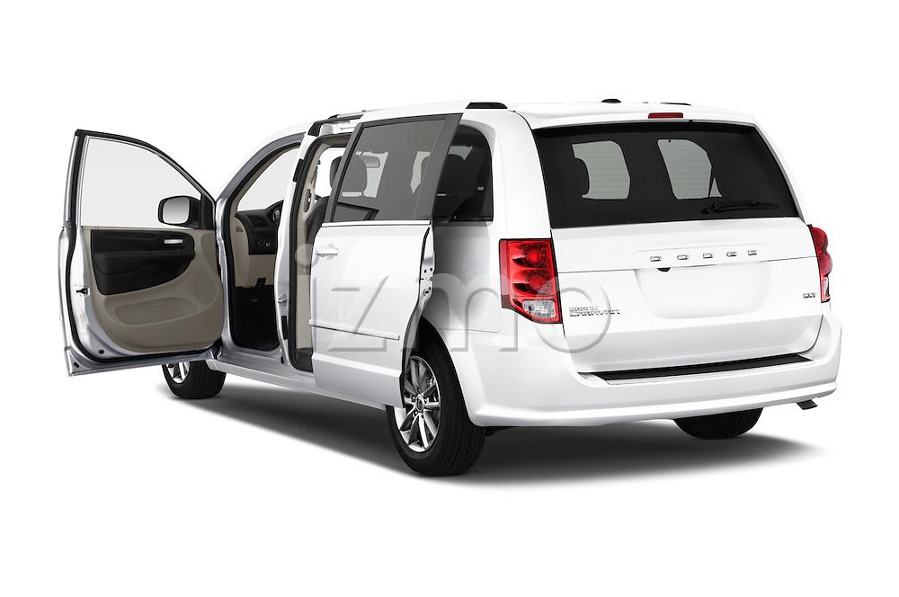 Car images of 2018 Dodge Grand-Caravan SXT 5 Door Minivan Doors