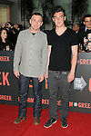 "LOS ANGELES, CA. - May 25: Rick Schroder and son Holden Schroder  arrive at the ""Get Him To The Greek"" Los Angeles Premiere at The Greek Theatre on May 25, 2010 in Los Angeles, California."