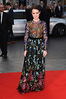 Claire Foy<br /> arriving for the London Film Festival 2017 screening of &quot;Breathe&quot; at the Odeon Leicester Square, London<br /> <br /> <br /> &copy;Ash Knotek  D3318  04/10/2017