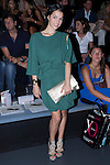 02.09.2012. Celebrities attending the Maria Barros and Sara Coleman fashion show during the Mercedes-Benz Fashion Week Madrid Spring/Summer 2013 at Ifema. In the image Paula Prendes (Alterphotos/Marta Gonzalez)