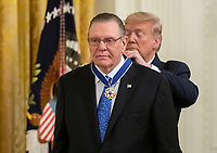 Donald Trump Awards the Presidential Medal of Freedom to General Jack Keane