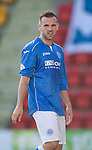St Johnstone v St Mirren....04.10.14   SPFL<br /> James McFadden<br /> Picture by Graeme Hart.<br /> Copyright Perthshire Picture Agency<br /> Tel: 01738 623350  Mobile: 07990 594431