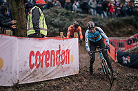 top race for young gun Michael Vanthourenhout (BEL/Marlux-Bingoal)<br /> <br /> Elite Men's Race<br /> UCI CX Worlds 2018<br /> Valkenburg - The Netherlands