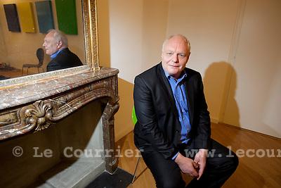 Genève, le 03.11.2009.David Hiler, conseiller d'état. Les verts.© Le Courrier / J.-P. Di Silvestro