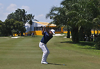 Shubhankar Sharma (IND) on the 18th fairway on his way to winning the Maybank Championship at the Saujana Golf and Country Club in Kuala Lumpur on Saturday 4th February 2018.<br /> Picture:  Thos Caffrey / www.golffile.ie<br /> <br /> All photo usage must carry mandatory copyright credit (&copy; Golffile | Thos Caffrey)