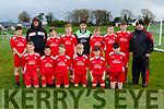 The Iveragh United team that played  Killorglin  in the u13 FAI cup in Killorglin on Saturday