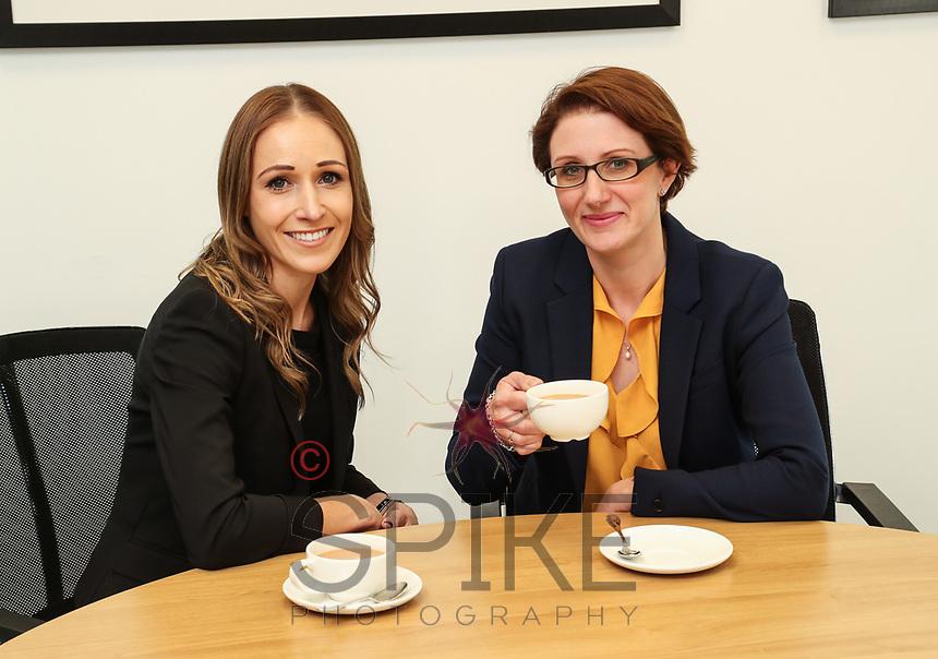 Beth Mather (left) and Victoria Elliott of Gateley plc Nottingham