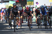 June 17th 2017, Schaffhaussen, Switzerland;  SAGAN Peter (SVK) Rider of Team Bora - Hansgrohe, MODOLO Sacha of UAE Team Emirates, TRENTIN Matteo (ITA) Rider of Quick-Step Floors Cycling team during stage 8 of the Tour de Suisse cycling race, a stage of 100 kms between Schaffhaussen and Schaffhaussen