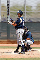 Vinny Rottino - Milwaukee Brewers - 2009 spring training.Photo by:  Bill Mitchell/Four Seam Images
