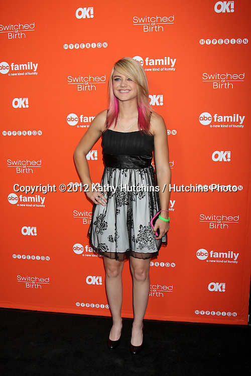 """LOS ANGELES - SEP 13:  Ashley Fiolek arrives at the """"""""Switched at Birth"""" Fall Premiere & Book Launch Party at The Redbury Hotel on September 13, 2012 in Los Angeles, CA"""