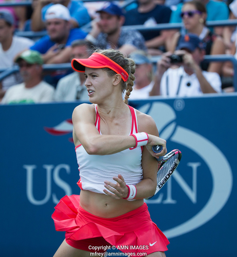 EUGENIE BOUCHARD (CAN)<br /> <br /> The US Open Tennis Championships 2015 - USTA Billie Jean King National Tennis Centre -  Flushing - New York - USA -   ATP - ITF -WTA  2015  - Grand Slam - USA  <br /> <br /> <br /> &copy; AMN IMAGES