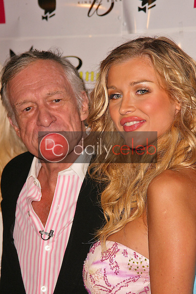 Hugh Hefner and Joanna Krupa<br />