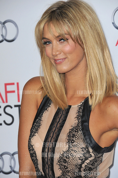 Delta Goodrem at the Los Angeles premiere of &quot;Out of the Furnace&quot;, part of the AFI Fest 2013, at the TCL Chinese Theatre, Hollywood.<br /> November 9, 2013  Los Angeles, CA<br /> Picture: Paul Smith / Featureflash