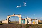 Shrine--El oratorio de Juan Diego y la sacrada familia built by the Vigil family, San Luis Valley, Colo.