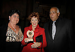 """Marion Ross wins best supporting actress - Happy Days - Hoboken International Film Festival held June 5, 2014 (Closing Night)  at the Paramount Theatre, Middletown, New York. - Opening night party and ceremony and Opening Night world-wide Premiere of Star-Filled Film """"Rock Story"""", a rock n'roller coaster drama/mystery starring Mandy Bruno, Robert Bogue and more.  (Photo by Sue Coflin/Max Photos)"""