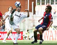 "flamini milanetto<br /> Genova 14/09/2008 Stadio ""Ferraris"" <br /> Calcio Serie A Tim 2008-2009 <br /> Genoa-Milan<br /> Foto Davide Elias Insidefoto"