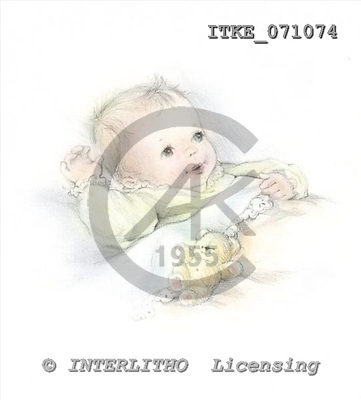 Isabella, BABIES, paintings, ITKE071074,#b# bébé, illustrations, pinturas ,everyday