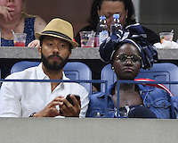 FLUSHING NY- AUGUST 30: Lupita Nyong'o seen watching Serena Williams Vs Ekaterina Kakarova on Arthur Ashe Stadium at the USTA Billie Jean King National Tennis Center on August 30, 2016 in Flushing Queens. Credit: mpi04/MediaPunch