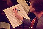 Port Townsend, Centrum, Chamber Music Workshop, June 16-21 2015, Fort Worden, Wheeler Theater, marking the score,  Joy Vucekovich, Azalea Quartet