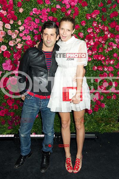 NEW YORK, NY - APRIL 24: Annabelle Dexter-Jones asiste a la &quot;Cena del Artista Chanel&quot; durante el Festival de Cine Tribeca 2012 en el Odeon el 24 de abril de 2012 en Nueva York.<br />  (**Foto/mpi44/Mediapunch/NortePhoto.com**)<br /> **SOLO*VENTA*EN*MEXICO**