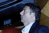 Roma, 20 Settembre 2013<br /> Auditorium di Via della Conciliazione<br /> Assemblea Nazionale del Partito Democratico.<br /> Nela foto Matteo Renzi candidato alla segreteria del PD
