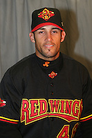 Rochester Red Wings Andres Torres during media day at Frontier Field on April 5, 2006 in Rochester, New York.  (Mike Janes/Four Seam Images)