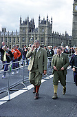 March through London organised by the Countryside Alliance to protest at the proposed ban on hunting with dogs