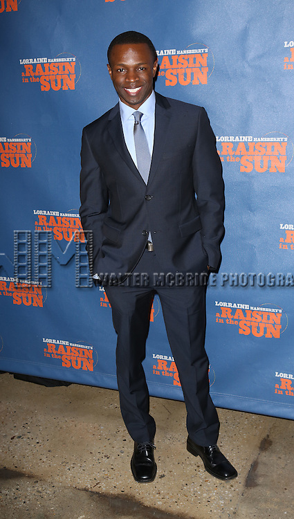 "Sean Patrick Thomas attends the Broadway Opening Night After Party for  ""A Raisin In The Sun"" at Tribeca Rooftop on April 3, 2014 in New York City."