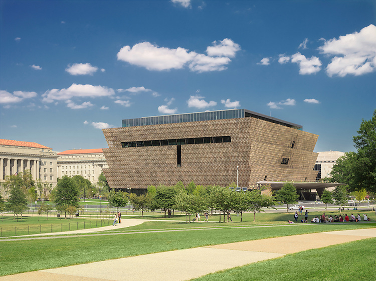 HyperFocal: 0 Smithsonian National Museum of African American History and Culture   Project Team: David Adjaye, SmithGroupJJR, and Clark/Smoot/Russell A Joint Venture