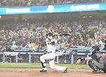 Seiji Kobayashi (JPN),<br /> MARCH 21, 2017 - WBC :<br /> Seiji Kobayashi of Japan bats during the 2017 World Baseball Classic Semifinal game between United States 2-1 Japan at Dodger Stadium in Los Angeles, California, United States. (Photo by AFLO)