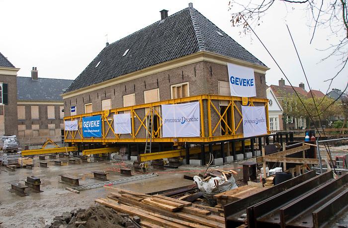 Assen,20 nov 2010.Het Drents museum wordt verbouwd en uitgebreid. .(c)renee teunis