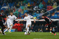 29.03.2014 SPAIN -  La Liga 13/14 Matchday 31th  match played between 5-0 Real Madrid CF vs Rayo Vallecano at Santiago Bernabeu stadium. The picture show Angel di Maria (Argentine midfielder of Real Madrid)