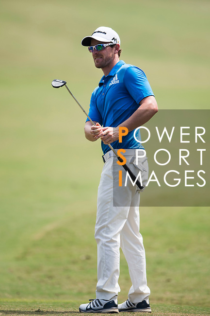 Kalem Richardson of Australia in action during the Venetian Macao Open 2016 at the Macau Golf and Country Club on 16 October 2016 in Macau, China. Photo by Marcio Machado / Power Sport Images