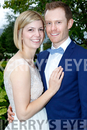 Ella Burrell from Australia and Jonathan O'Callaghan from Ballyduff, Co Kerry who married on February 18th last In Perth and came home for a family celebration in the Ballygarry House hotel, Tralee last Sunday evening.