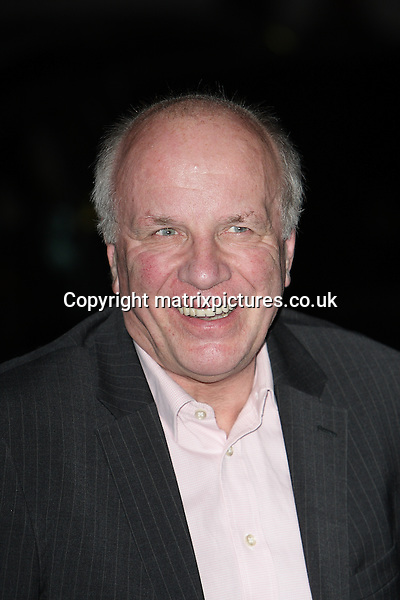 NON EXCLUSIVE PICTURE: MATRIXPICTURES.CO.UK.PLEASE CREDIT ALL USES..WORLD RIGHTS..Picture shows British media executive Greg Dyke attending the London Evening Standard British Film Awards at the Marriott Hotel County Hall, London...FEBRUARY 4th 2013..REF: GBH 13740