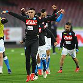 2nd February 2019, Stadio San Paolo, Naples, Italy; Serie A football, Napoli versus Sampdoria; Jose Maria Callejon of Napoli
