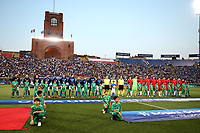 Teams line up <br /> Bologna 19/06/2019 Stadio Renato Dall'Ara  <br /> Football UEFA Under 21 Championship Italy 2019<br /> Group Stage - Final Tournament Group A<br /> Italy - Poland <br /> Photo Cesare Purini / Insidefoto