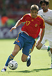 23 June 2006: Joaquin (ESP). Saudi Arabia lost to Spain at Fritz-Walter Stadion in Kaiserslautern, Germany in match 47, a Group H first round game, of the 2006 FIFA World Cup.