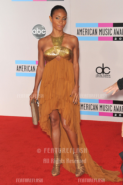 Jada Pinkett Smith at the 2010 American Music Awards at the Nokia Theatre L.A. Live in downtown Los Angeles..November 21, 2010  Los Angeles, CA.Picture: Paul Smith / Featureflash
